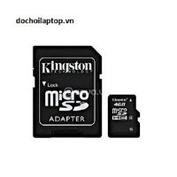 Thẻ nhớ Micro SD Kingston 4Gb ! - Thẻ nhớ Micro SD Kingston 4Gb