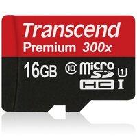 Thẻ nhớ MicroSD Transcend Premium 16GB