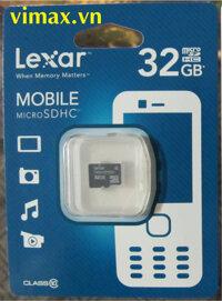 Thẻ nhớ MicroSDHC Lexar 32GB class 10