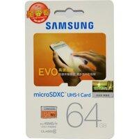Thẻ Nhớ MicroSDXC Samsung Evo 64 GB - 48 MB/s