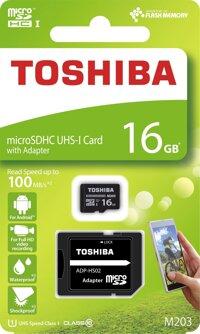 Thẻ nhớ MicroSDXC Toshiba M203 16GB