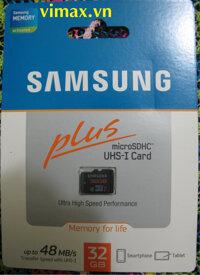 Thẻ nhớ Samsung Plus 32GB Class 10