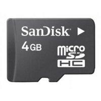 Thẻ nhớ SanDisk Micro Class 4 – 4GB