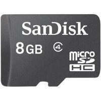 Thẻ nhớ SanDisk Micro SD Class 4 - 8GB