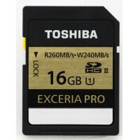 Thẻ nhớ SDHC Toshiba EXCERIA PRO UHS-II 16Gb