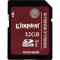 Thẻ nhớ SDHC UHS-I U3 Kingston 32GB