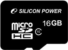 Thẻ nhớ Silicon Power Micro SDHC Class 10 - 16GB