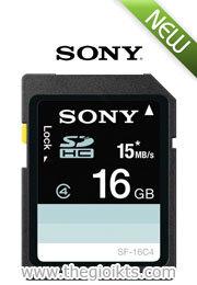 Thẻ nhớ Sony SDHC 16GB (Class 4)