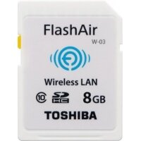 Thẻ Nhớ Toshiba SDHC 8GB Flash air WiFi