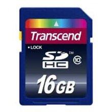Thẻ nhớ Transcend SDHC Class 10 - 16GB