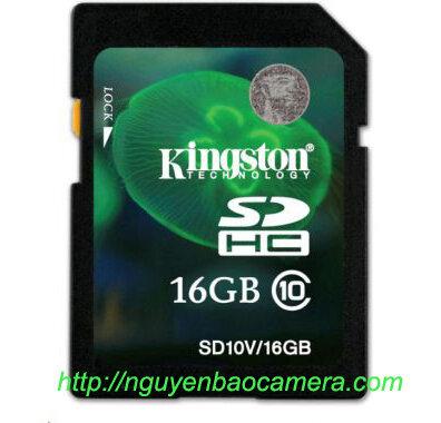 Thẻ SDHC Kingston HC10 16G