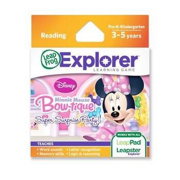 Thẻ trò chơi Bữa tiệc của Minnie LeapFrog 39126