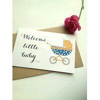 Thiệp Papermix Welcome Little Baby - BB12