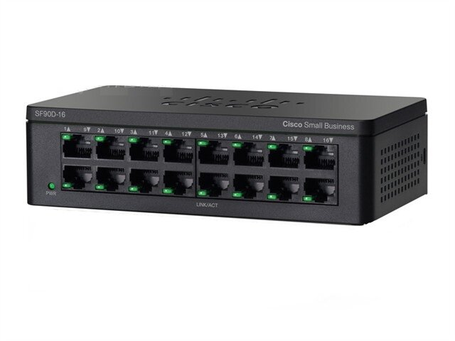Thiết bị chia mạng Switch Cisco SF95D-16, 16-port