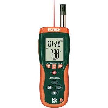 Thiết bị đo độ ẩm kết hợp nhiệt kế hồng ngoại extech - HD500