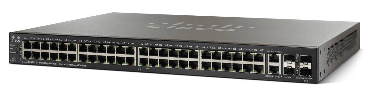 Thiết bị mạng Cisco SG500-52P-K9-G5