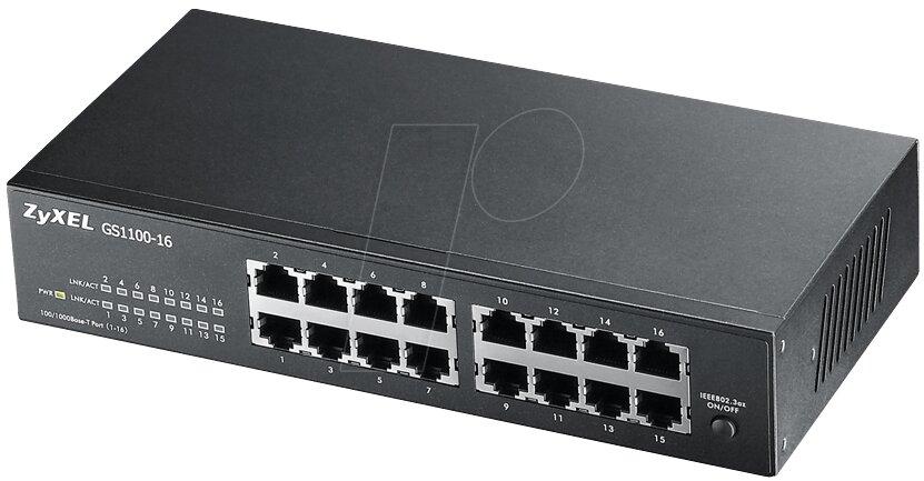 Thiết bị mạng ZyXEL GS1100-16