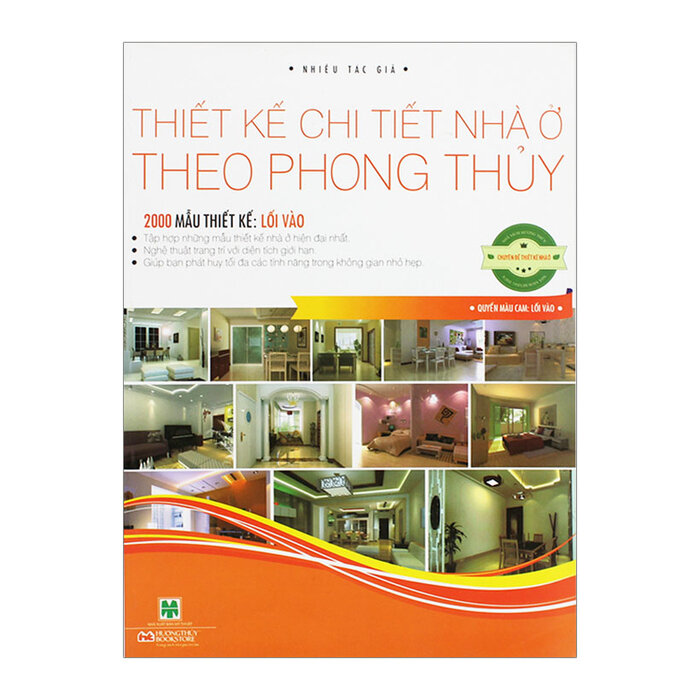 Thiết Kế Chi Tiết Nhà Ở Theo Phong Thủy - 2000 Mẫu Thiết Kế: Lối Vào