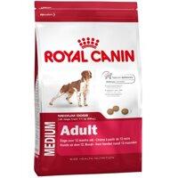 Thức ăn cho chó Royal Canin Medium Adult - 10kg, dành cho chó từ 11-25kg và trên 12 tháng tuổi