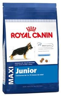 Thức ăn cho chó Royal Canin Maxi Junior - 16kg, dành cho chó từ 26-44kg và từ 2-15 tháng