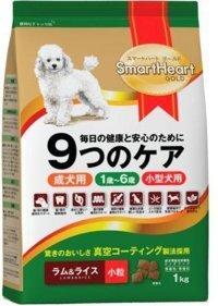 Thức ăn cho chó SmartHeart Gold (thịt cừu và gạo) - 3 kg, dành cho chó nhỏ
