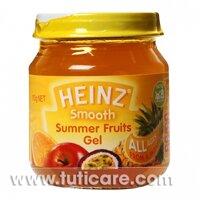 Thức ăn dặm dinh dưỡng rau câu trái cây Heinz 110g
