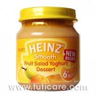 Thức ăn dặm dinh dưỡng sữa chua trái cây Heinz 110g