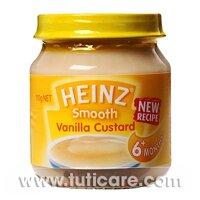 Thức ăn dinh dưỡng trứng sữa vani Heinz 51025 - 110g
