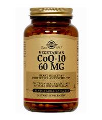 Thực phẩm bảo vệ sức khỏe Solgar Vegetarian CoQ-10 60mg (60 viên)