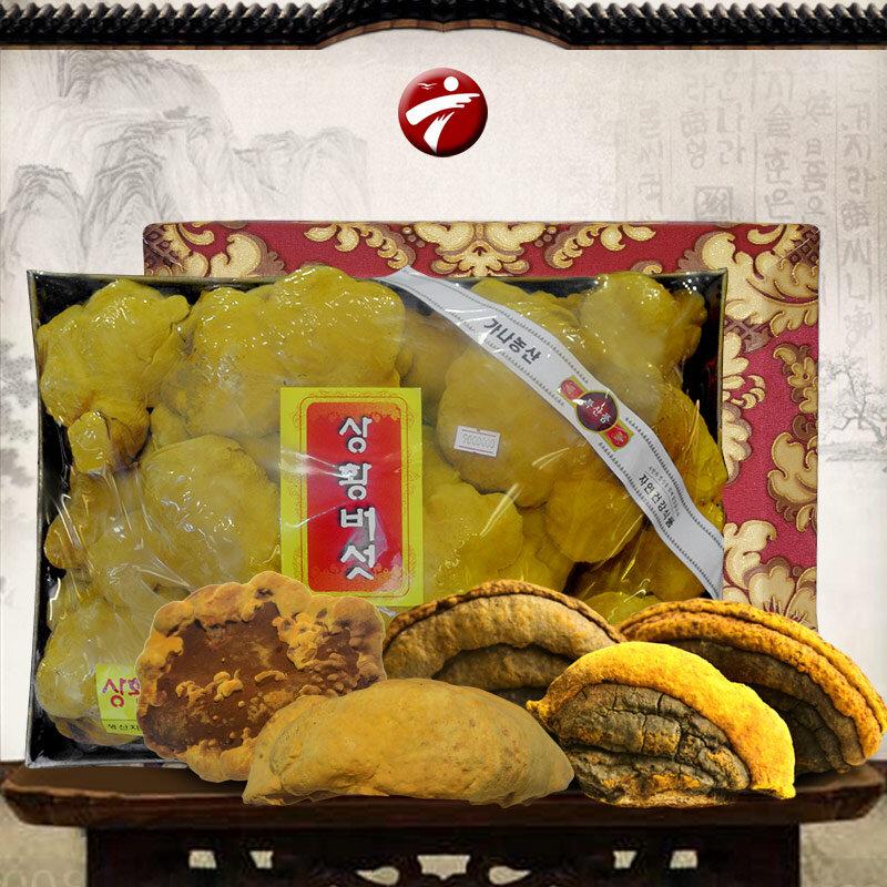 Thực phẩm bổ sung Nấm linh chi Thượng Hoàng loại thượng hạng hộp quà biếu L039