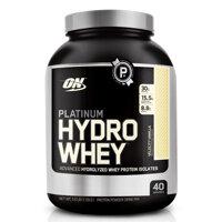 Thực phẩm bổ sung tăng cơ Platinum HydroWhey, Velocity Vanilla Optimum Nutrition 3.5 Lbs