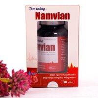 Thực phẩm chức năng bảo vệ sức khỏe Tâm thống Namvian 30 viên