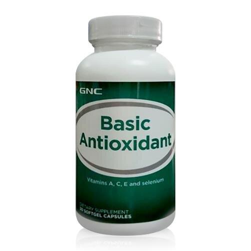 Thực phẩm chức năng bổ sung Vitamin, tăng cường sức đề kháng GNC Basic Antioxidant 30 viên