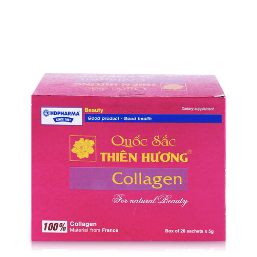 Thực phẩm chức năng bổ sung Collagen Quốc Sắc Thiên Hương 20 gói