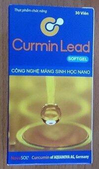 Thực phẩm chức năng Curmin Lead Softget hỗ trợ điều trị bệnh viêm loét dạ dày, hành tá tràng