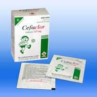 Thực phẩm chức năng điều trị nhiễm khuẩn đường hô hấp Cefaclor 125mg