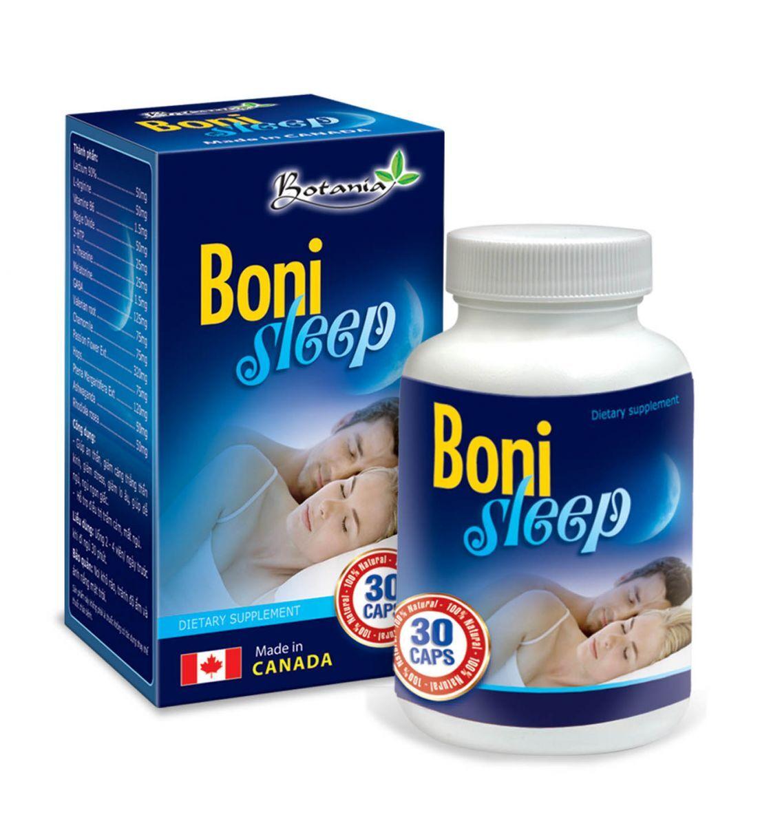 Thực phẩm chức năng giúp an thần BoniSleep