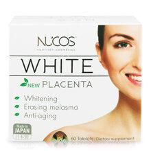 Thực phẩm chức năng hỗ trợ làm trắng da, chống nắng Nucos White 60 viên