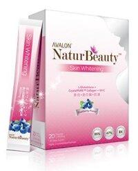 Thực phẩm chức năng hỗ trợ làm trắng da Avalon NaturBeauty Skin Whitening 20 gói