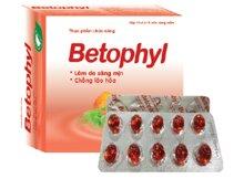 Thực phẩm chức năng hỗ trợ chống lão hóa, làm da sáng mịn Betophyl 100 viên