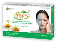 Thực phẩm chức năng hỗ trợ chứng đau nửa đầu Migrin