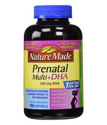 Thực phẩm chức năng Nature Made PrenatalMulti + DHA 200 Mg 90 Softgels