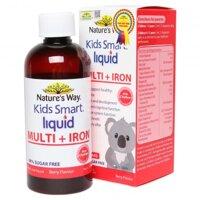 Thực phẩm chức năng Nature's Way Kids Smart sắt và vi chất 200ml
