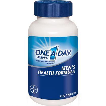 Thực phẩm chức năng One-A-Day Multivitamin Men's Health Formula – 200 viên