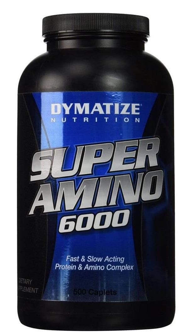 Thực phẩm chức năng tái tạo cơ bắp Super Amino 6000 500 viên