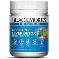 Thực phẩm Giải Độc Gan & Phục Hồi Chức Năng Gan Blackmores Recharge Liver Detox Dạng Bột 100g