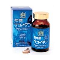 Thực phẩm hỗ trợ điều trị ung thư Fucoidan Okinawa Extract Kanehide Bio 180 viên