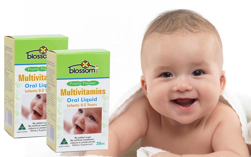 Thức uống đa Vitamin trẻ em Blossom Multivitamin Oral Liquid For Kids 30ml