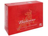 Thùng 20 lon bia Budweiser 330ml