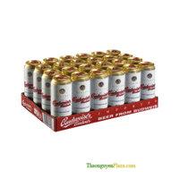 Thùng 24 lon 500ml - Bia Budweiser Budvar Original ( Séc - Bia ngoại )